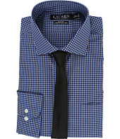 LAUREN Ralph Lauren - Stretch Poplin Spread Collar Slim Button Down Shirt