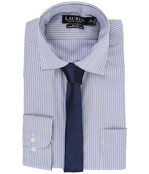 LAUREN Ralph Lauren Stretch Poplin Spread Collar Slim Button Down Shirt