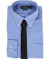 LAUREN Ralph Lauren - Poplin Checks Button Down Collar Classic Button Down Shirt