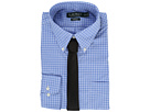 LAUREN Ralph Lauren Poplin Checks Button Down Collar Classic Button Down Shirt