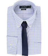 LAUREN Ralph Lauren - Basket Weave Check Spread Collar Classic Button Down Shirt
