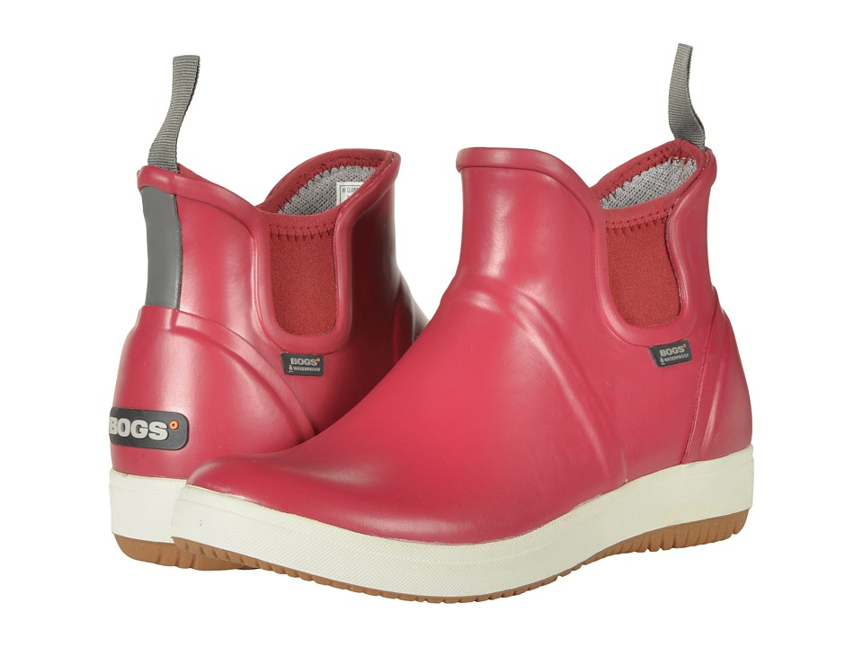 Bogs Quinn Slip-On Boot (Brick) Women