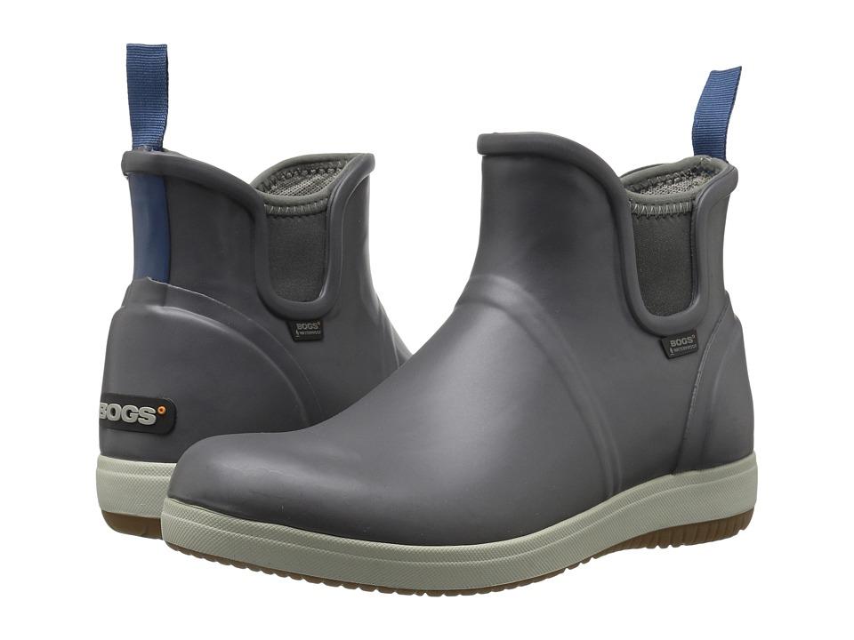 Bogs Quinn Slip-On Boot (Gray) Women