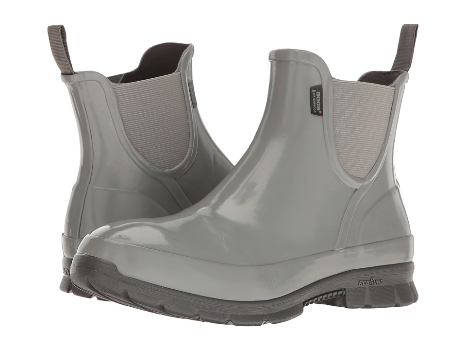 Bogs Amanda Slip-On Boot (Gray) Women