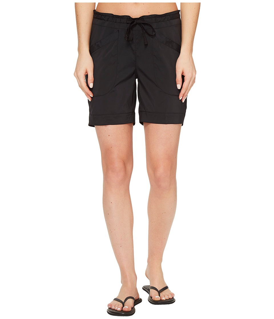 ExOfficio Sol Cool Shorts (Black) Women