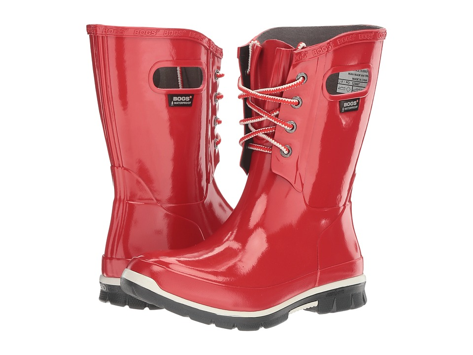 Bogs Amanda 4-Eye Boot (Red) Women