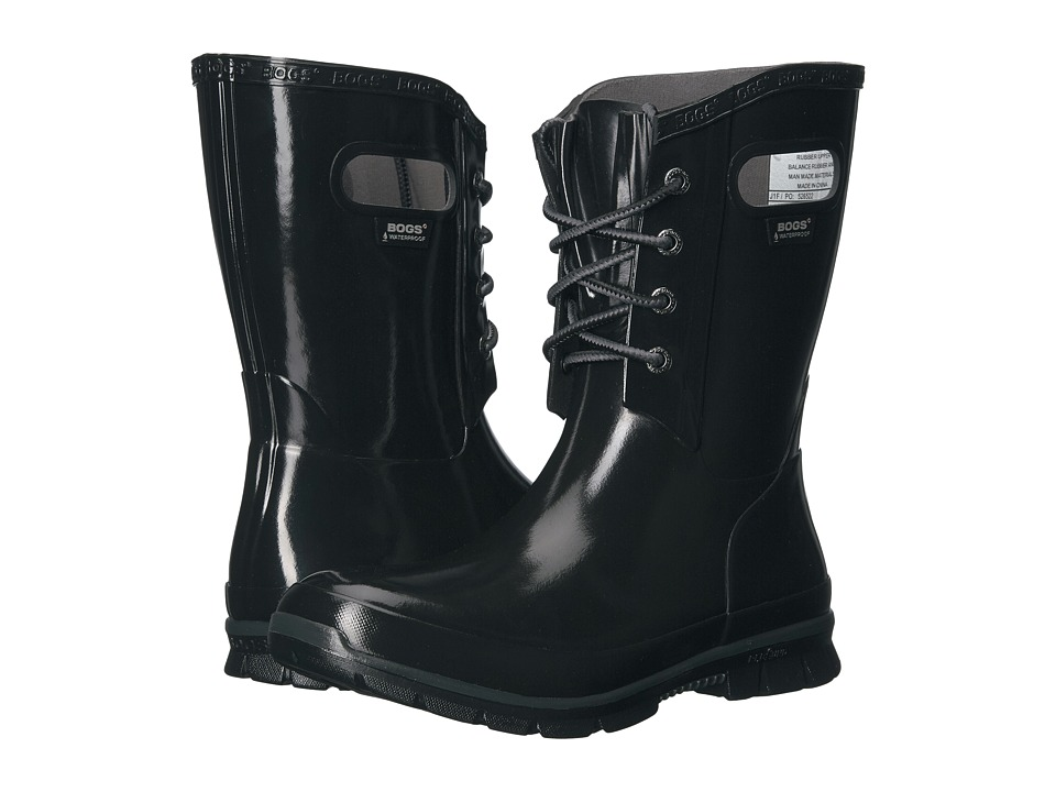 Bogs Amanda 4-Eye Boot (Black) Women