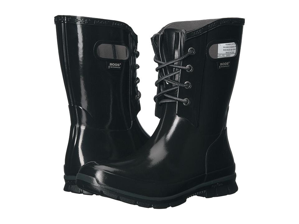 Bogs Amanda 4-Eye Boot (Black) Women