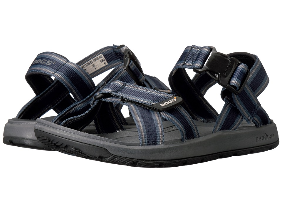 Bogs Rio Sandal Stripes (Navy Multi) Men