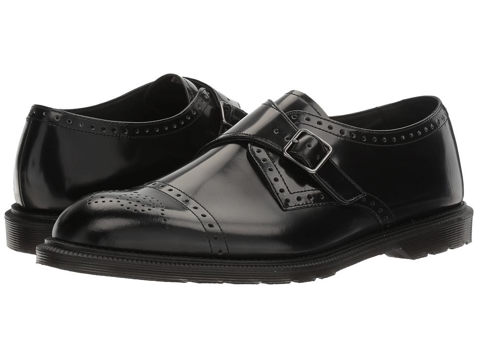 Dr. Martens Cobden (Black Polished Smooth) Men