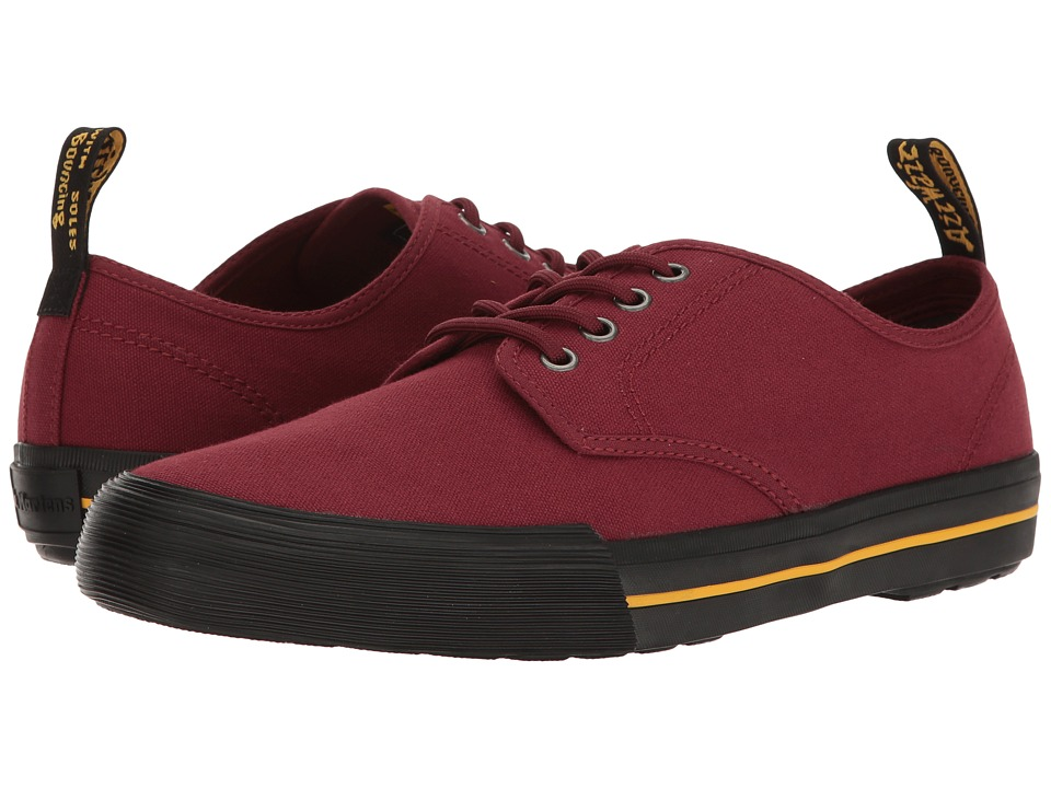 Dr. Martens Pressler (Cherry Red Canvas) Men