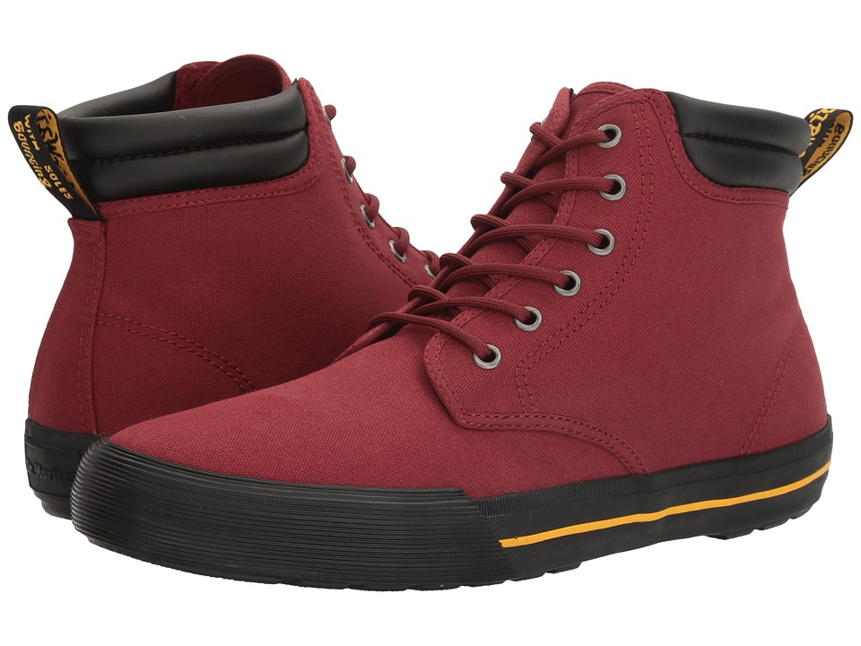Dr. Martens Eason (Cherry Red Canvas) Men