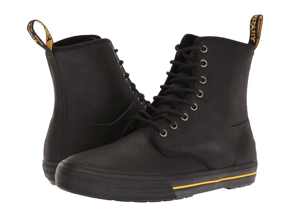 Dr. Martens Winsted (Black Greasy Lamper Vulc/Mohawk Synthetic) Men