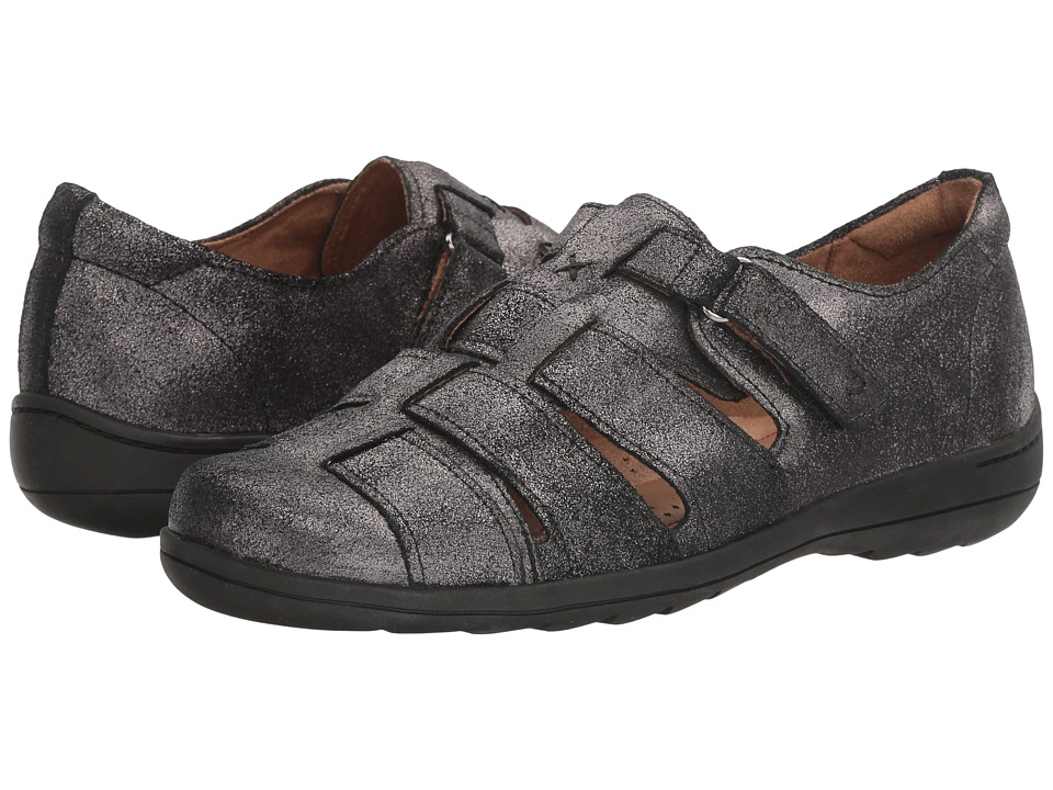 Rockport Cobb Hill Collection Cobb Hill Leland Fisherman (Dark Pewter) Women