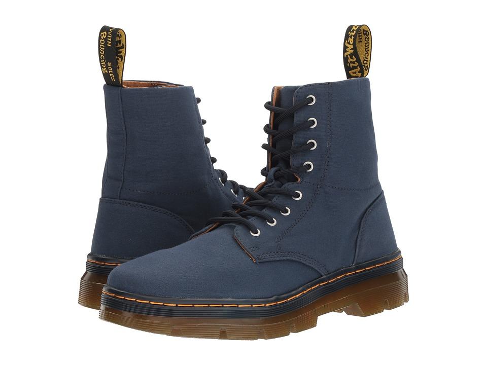 Dr. Martens Combs (Indigo Canvas) Boots