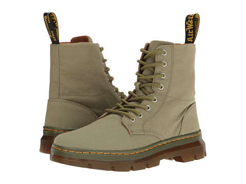 Dr. Martens Combs - Mid Khaki Canvas