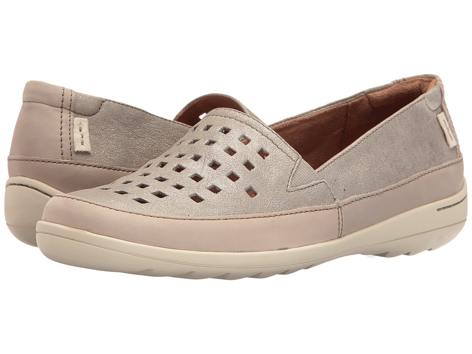 Rockport Cobb Hill Collection Cobb Hill Leland Perf Aline (Pewter) Women