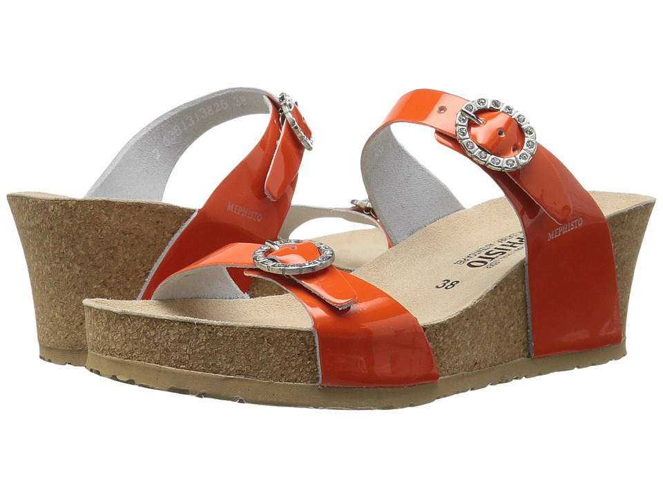 Mephisto Lidia (Orange Patent) Women