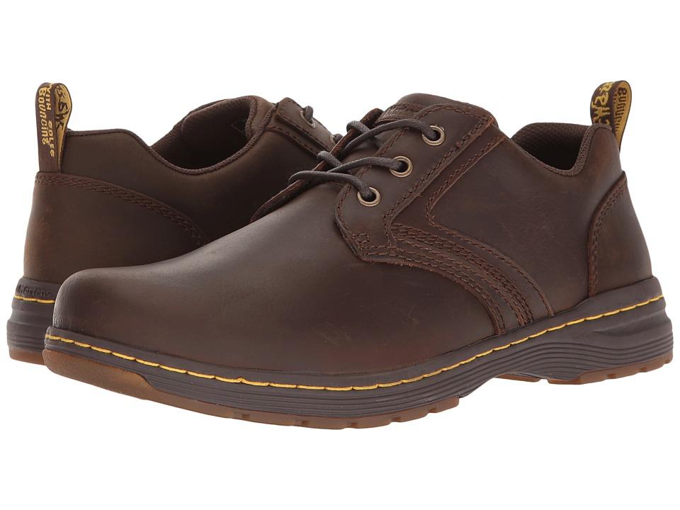 Dr. Martens - Gilmer (Dark Brown Republic) Men's Boots -  adult