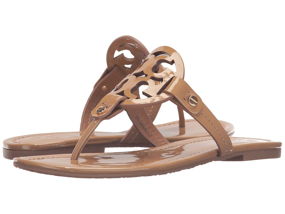 Tory Burch Miller Flip Flop Sandal (Sand) Women's Shoes