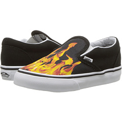 Vans Kids Classic Slip-On (Toddler) at Zappos.com