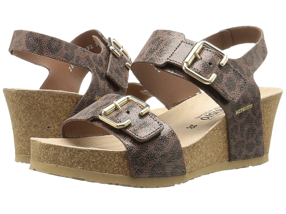 Mephisto - Lissandra (Brown Oldleo) Women's Wedge Shoes
