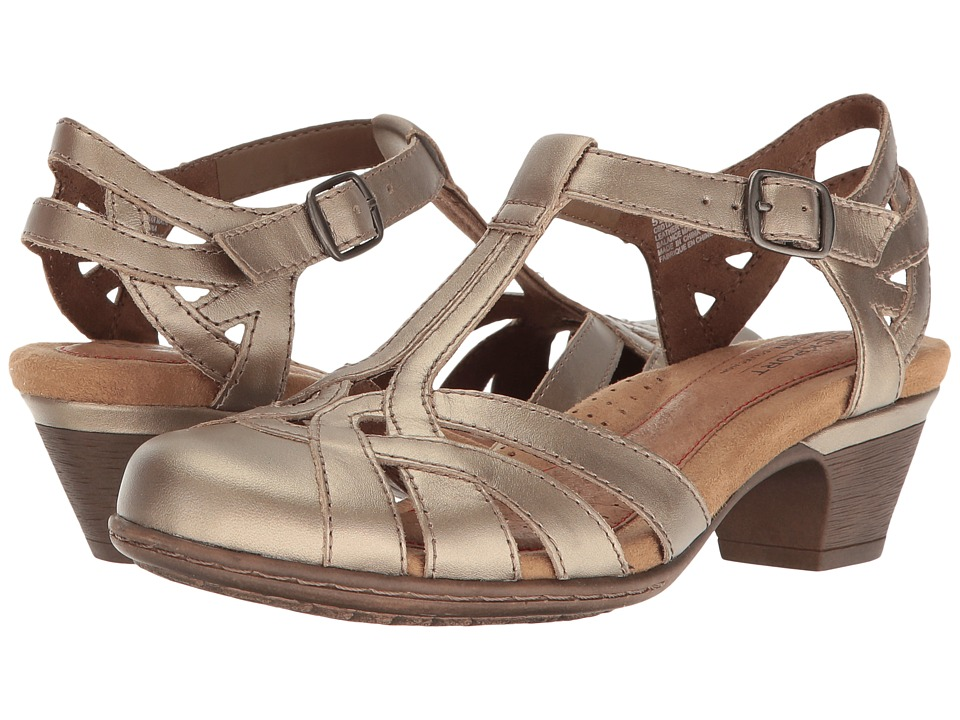 Rockport Cobb Hill Collection Cobb Hill Aubrey (Pewter Leather) 1-2 inch heel Shoes