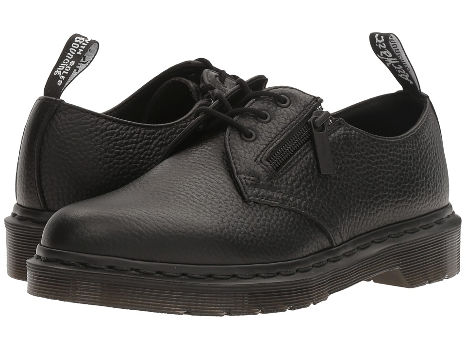 Dr. Martens 1461 w/ Zip (Black Aunt Sally) Women