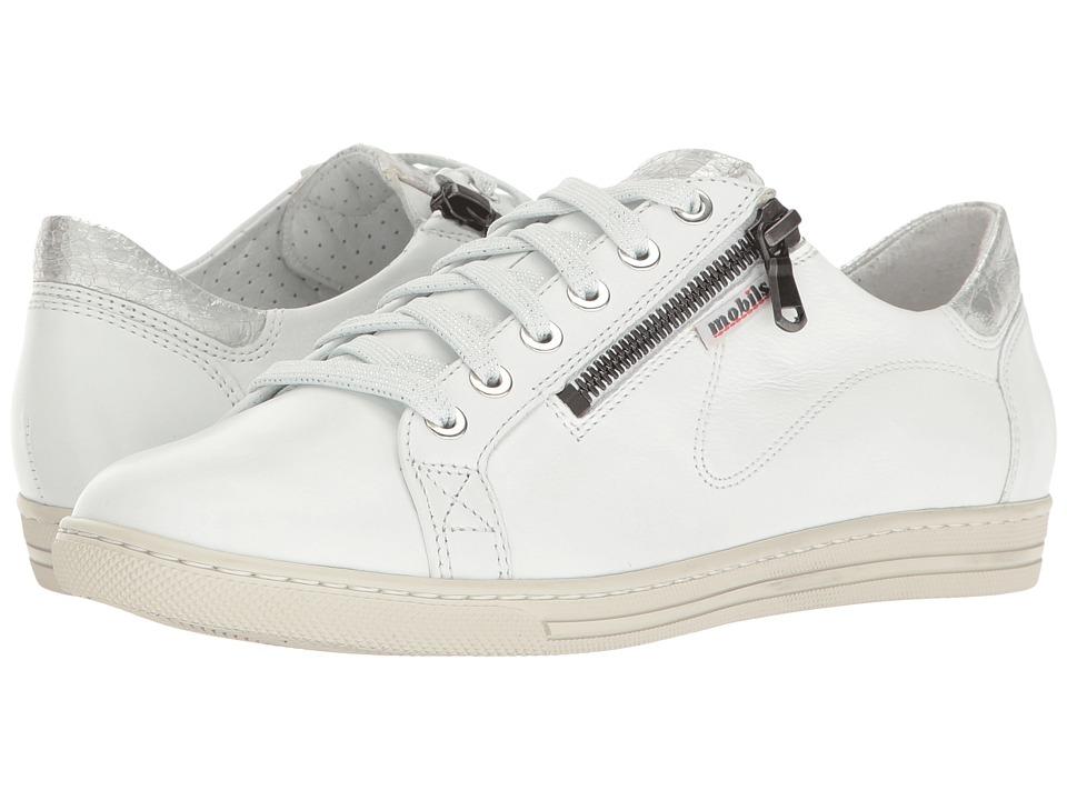Mephisto Hawai (White Silk/Silver Ice) Women's  Shoes