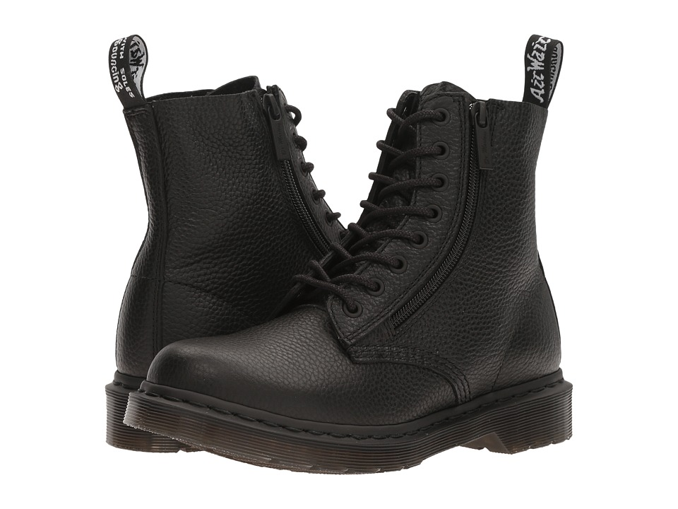 Dr. Martens Pascal w/ Zip (Black Aunt Sally) Women