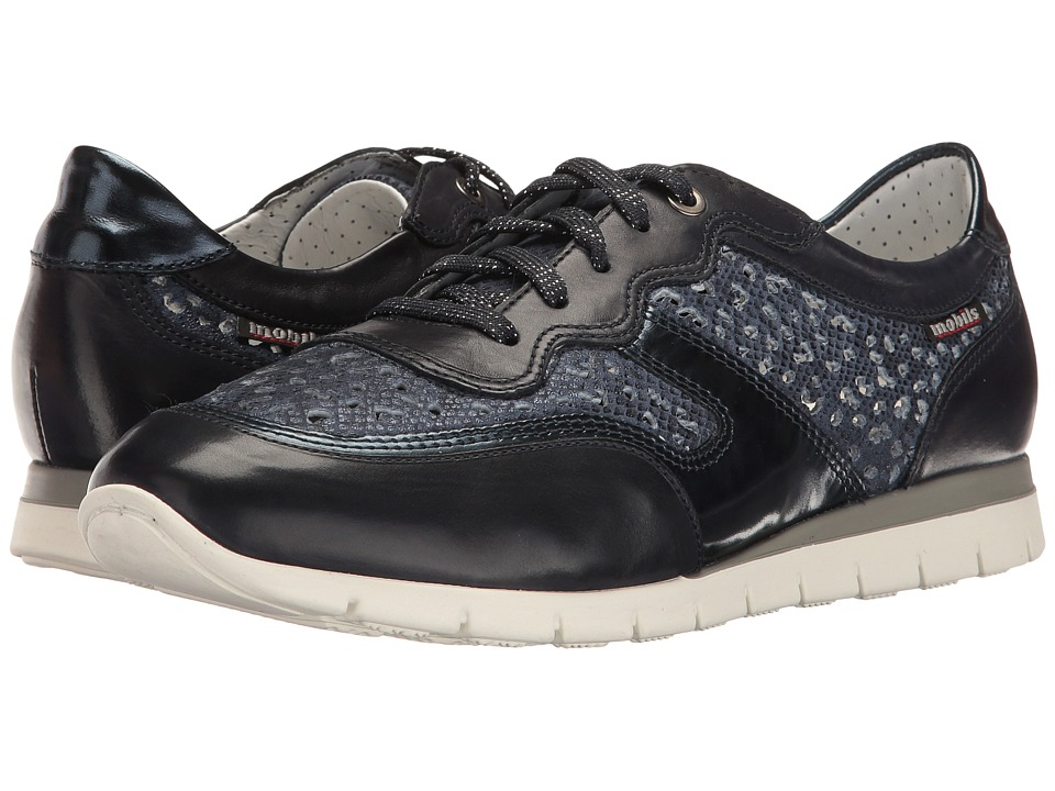 Mephisto Kadia Perf (Navy Silk/Savana/Blue Magic) Women