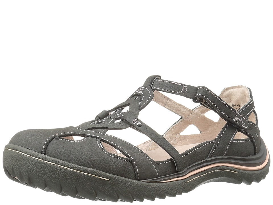Jambu Spain (Charcoal/Pastel Pink) Women's  Shoes