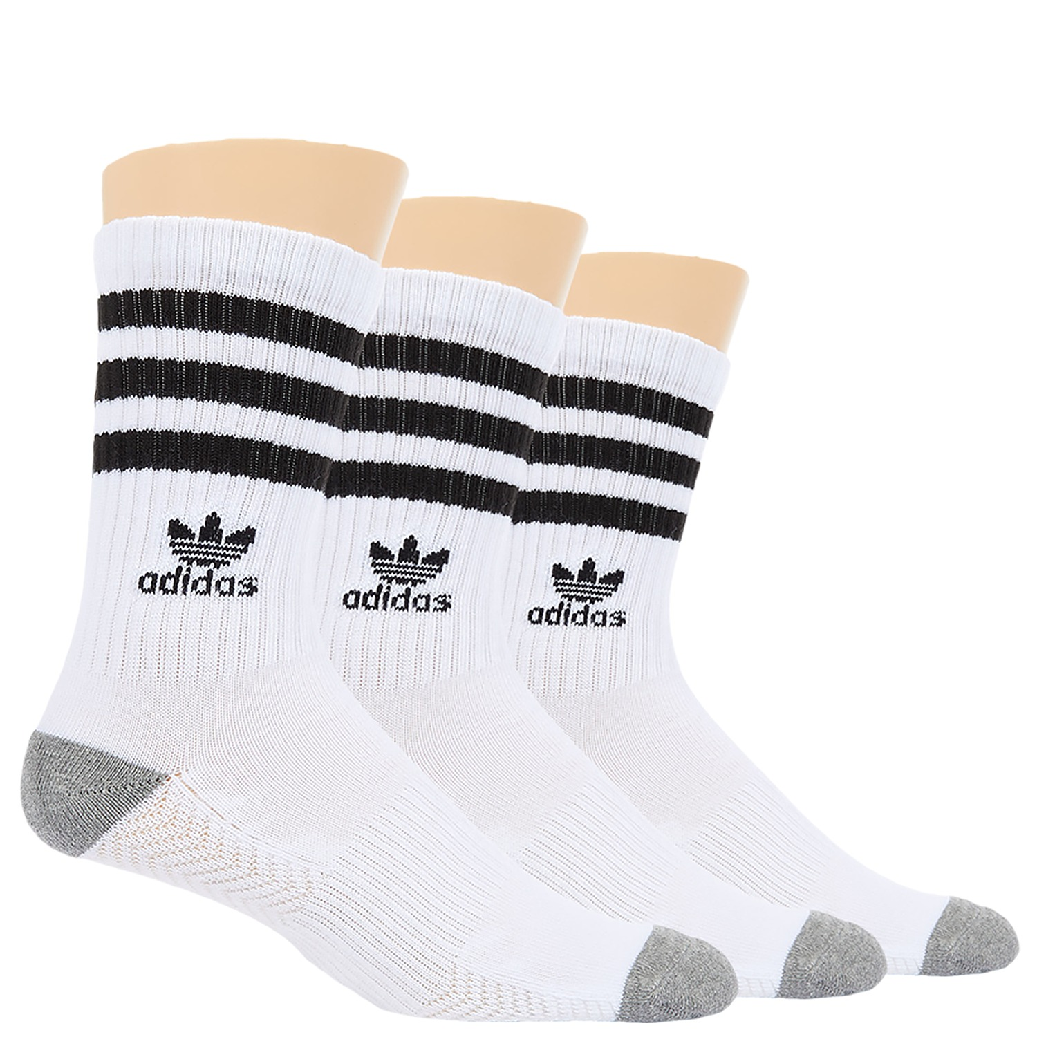 adidas - Originals Roller Crew Sock 3-Pack
