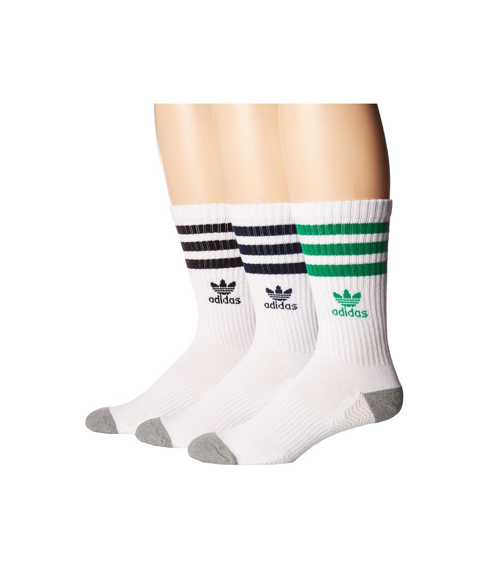 adidas - Originals Roller Crew Sock 3-Pack