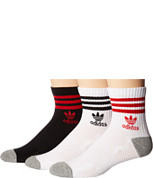 adidas - Originals Roller Quarter Sock 3-Pack