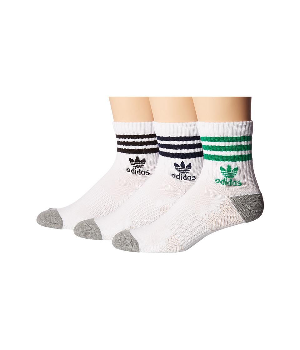 adidas - Originals Roller Quarter Sock 3