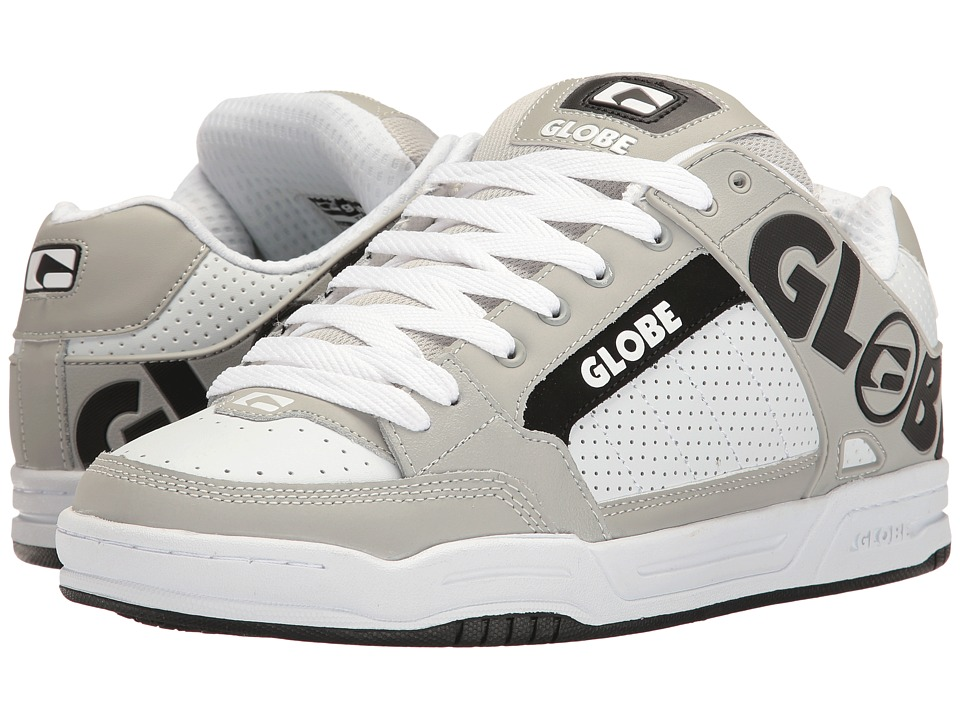 Globe - Tilt (White/Grey/Black) Mens Skate Shoes