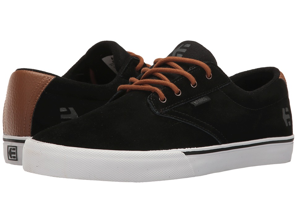 etnies Jameson Vulc (Black/Brown/Grey) Men