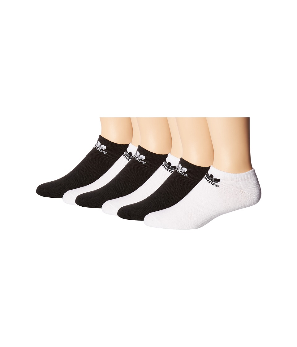 adidas - Originals Trefoil No Show Sock 6-Pack