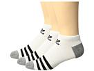 adidas Kids Originals Roller No Show Sock 3-Pack (Little Kid/Big Kid)