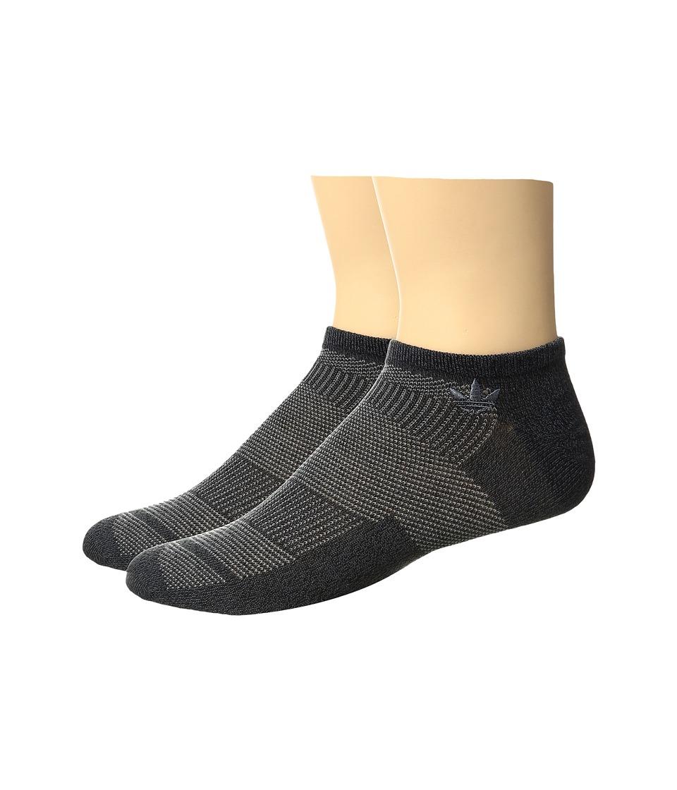 adidas - Originals Prime Mesh No Show Sock 2-Pack