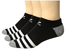 adidas Originals Originals Roller No Show Sock 3-Pack (Little Kid/Big Kid)