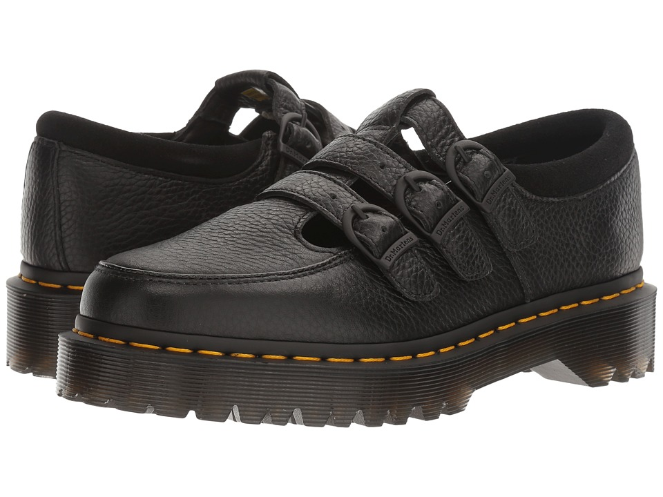 Dr. Martens Freya (Black Aunt Sally/Hi Suede WP) Women