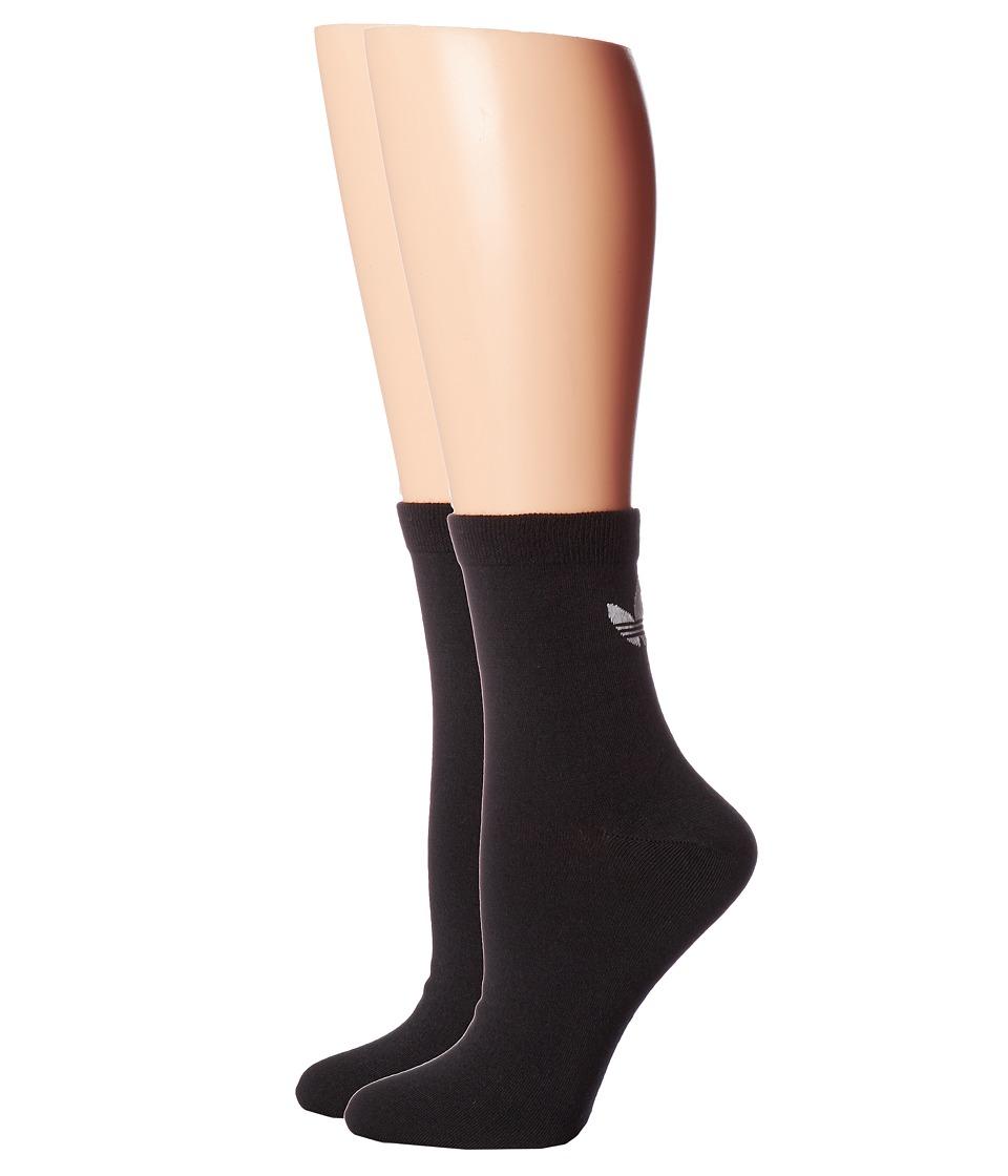 adidas - Originals Trefoil Ankle Sock 2-Pack