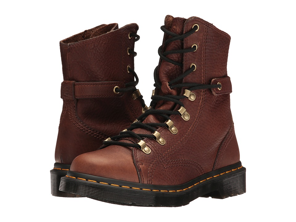 Dr. Martens Coraline (Dark Brown Grizzly) Women