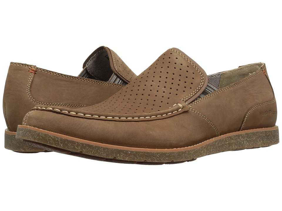 Hush Puppies - Lorens Jester (Brown Nubuck) Men's Slip on  Shoes