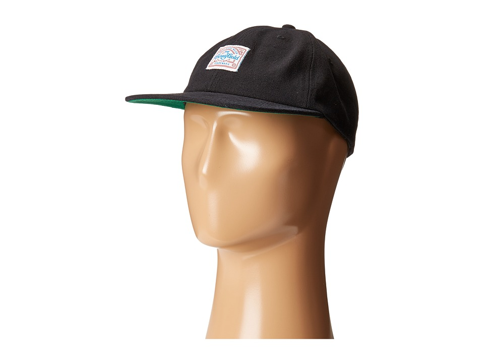 Image of Benny Gold - Anti-Work Washed Polo Cap (Black) Caps
