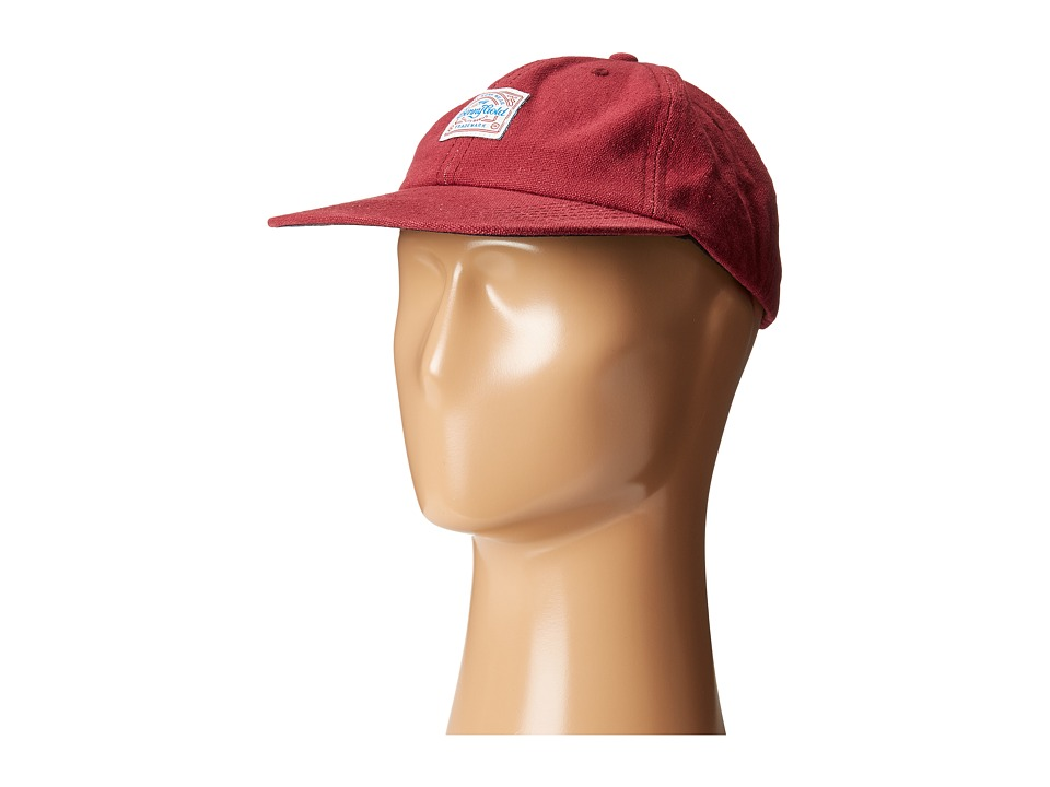 Image of Benny Gold - Anti-Work Washed Polo Cap (Red) Caps