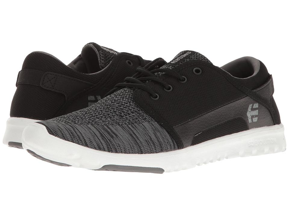 etnies - Scout YB (Black/Grey) Mens Skate Shoes