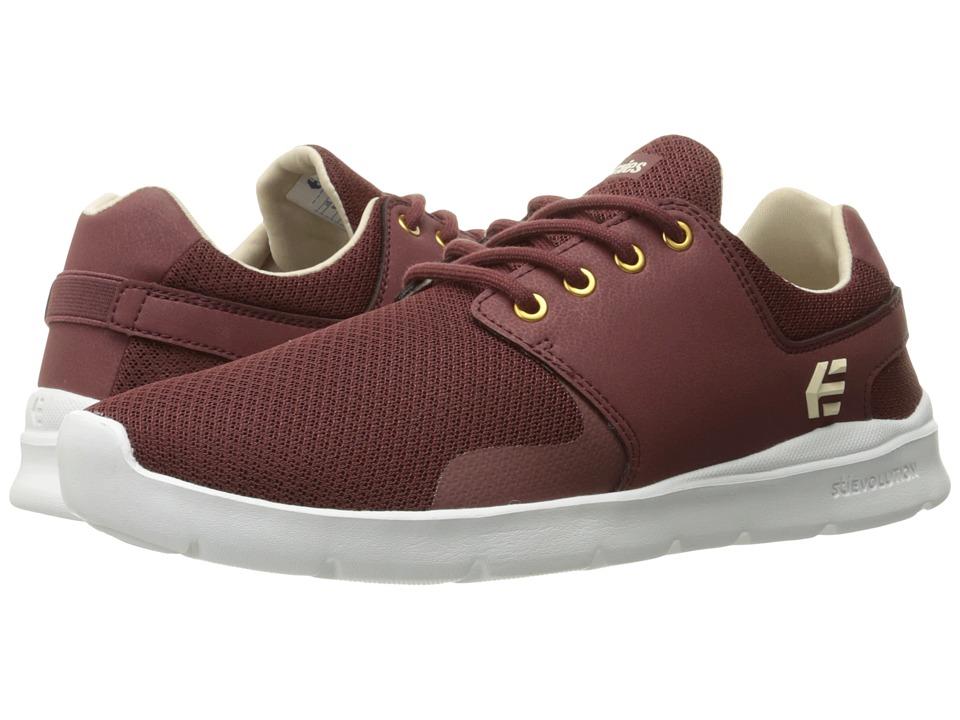 etnies - Scout XT (Burgundy) Mens Skate Shoes